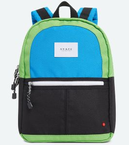State Bags Mini Kane Kid Backpack - Black/Green