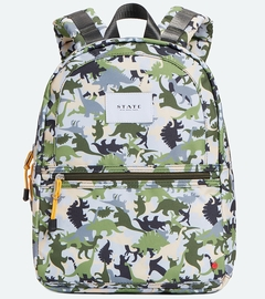 State Bags Mini Kane Backpack - Dinoflage