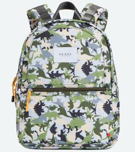 State Bags Mini Kane Kid Backpack - Dinoflage