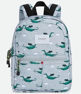 State Bags Mini Kane Kid Backpack - Gray Multi