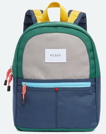 State Bags Mini Kane Backpack - Green/Navy