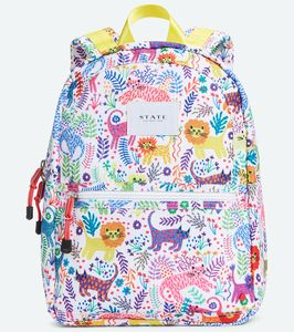 State Bags Mini Kane Kid Backpack - Jungle Cats