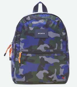 State Bags Mini Kane Kids Backpack -Camo