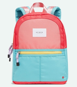 State Bags Mini Kane Kids Backpack - Pink/Mint