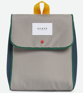 State Bags Richmond Lunch Sack - Green/Navy