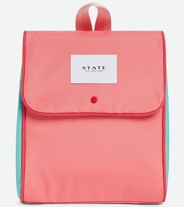 State Bags Richmond Lunch Sack - Pink/Mint