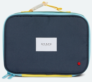 State Bags Rodgers Lunch Box - Green/Navy
