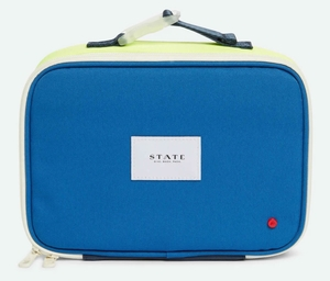 State Bags Rodgers Lunch Box - Lime/Grey