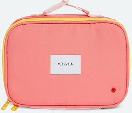 State Bags Rodgers Lunch Box - Pink/Mint