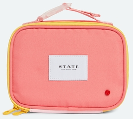 State Bags Ryder Snack Pack - Pink/Mint