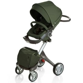 Stokke 2010 XPLORY Basic Stroller in Green with FREE Carry Cot
