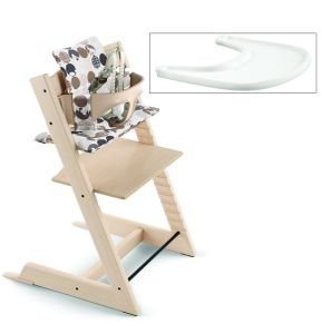 Stokke Tripp Trapp Complete High Chair - Natural / Silhouette Black