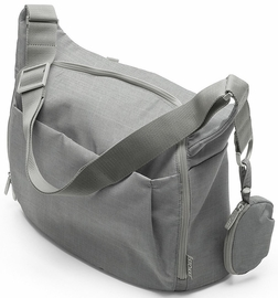 Stokke Changing Bag in Grey Melange