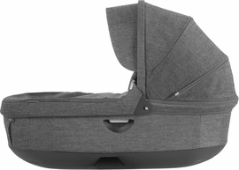 Stokke Trailz & Crusi Carrycot - Black Melange