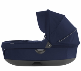Stokke Trailz & Crusi Carrycot - Deep Blue