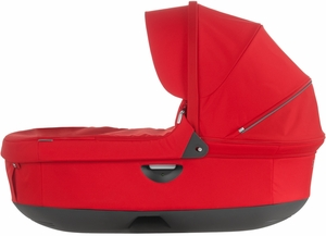 Stokke Trailz & Crusi Carrycot - Red