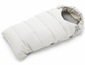 Stokke Down Sleeping Bag - Pearl White