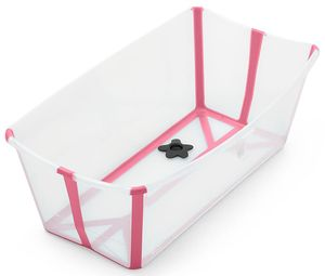 Stokke Flexi Bath - Transparent Pink