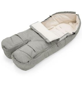Stokke Footmuff - Brushed Grey