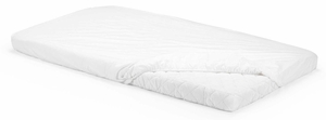 Stokke Home Bed Fitted Sheets, Set of 2 - White