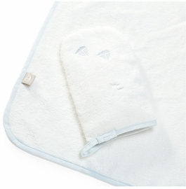 Stokke Hooded Towel - Blue Sea