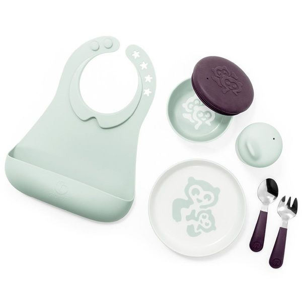 Stokke Munch Complete Mealtime Set - Soft Mint