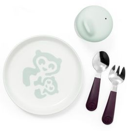 Stokke Munch Essentials Mealtime Set - Soft Mint