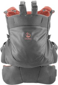 Stokke MyCarrier Back-Only Baby Carrier - Coral Mesh