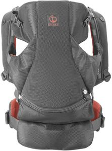 Stokke MyCarrier Athleisure Front & Back Baby Carrier - Coral Mesh