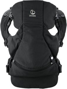 Stokke MyCarrier Front-Only Baby Carrier - Black