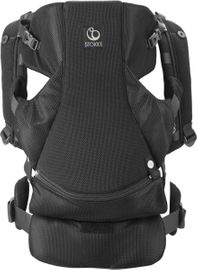 Stokke MyCarrier Front-Only Baby Carrier - Black Mesh