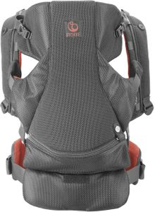 Stokke MyCarrier Front-Only Baby Carrier  - Coral Mesh