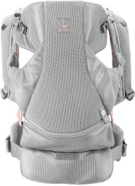 Stokke MyCarrier Front-Only Baby Carrier - Pink Mesh