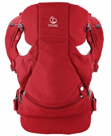 Stokke MyCarrier Front-Only Baby Carrier - Red