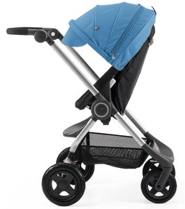 Stokke Scoot Complete Stroller - Black/Blue