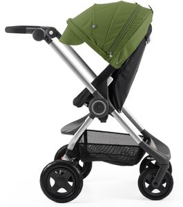 Stokke Scoot Complete Stroller - Black/Green