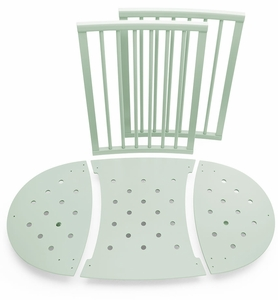 Stokke Sleepi Bed Extensions, Mini to Crib Conversion - Mint Green