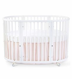 Stokke Sleepi Bed Skirt by Pehr - Blush