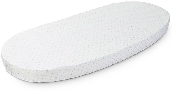 Stokke Sleepi Junior Fitted Sheet by Pehr - Grey Dotty