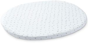Stokke Sleepi Mini Fitted Sheet by Pehr - Grey