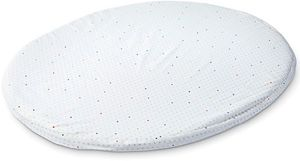 Stokke Sleepi Mini Fitted Sheet by Pehr - Rainbow Dot