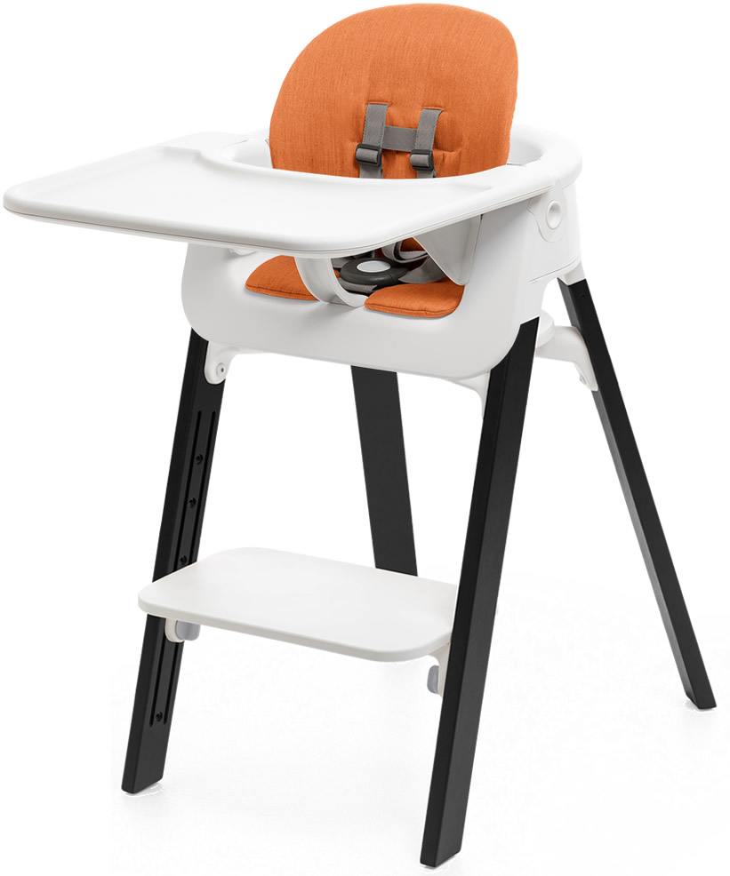 Stokke Steps Complete High Chair With Cushion White Oak