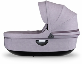 Stokke Stroller Black Carrycot - Brushed Lilac