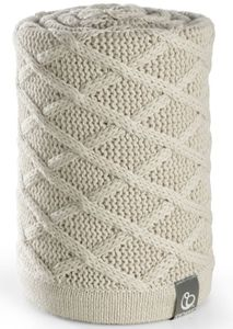 Stokke Stroller Blanket - Cable Cream
