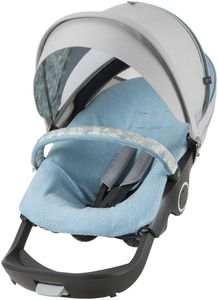 Stokke Stroller Summer Kit - Flora Blue