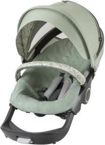 Stokke Stroller Summer Kit - Flora Green
