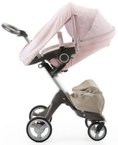 Stokke Stroller Summer Kit for Xplory, Crusi, Trailz - Faded Pink