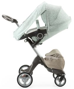 Stokke Stroller Summer Kit for Xplory, Crusi, Trailz - Salty Blue