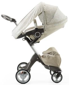 Stokke Stroller Summer Kit for Xplory, Crusi, Trailz - Sandy Beige