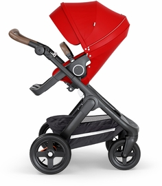Stokke Trailz All-Terrain Stroller - Black/Red